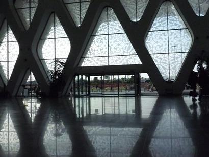 モロッコ マラケシュ空港